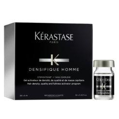 KERASTASE DENSIFIQUE HOMME SERUM 30X6 ML Tratament pentru densificarea si texturizarea parului, pentru barbati